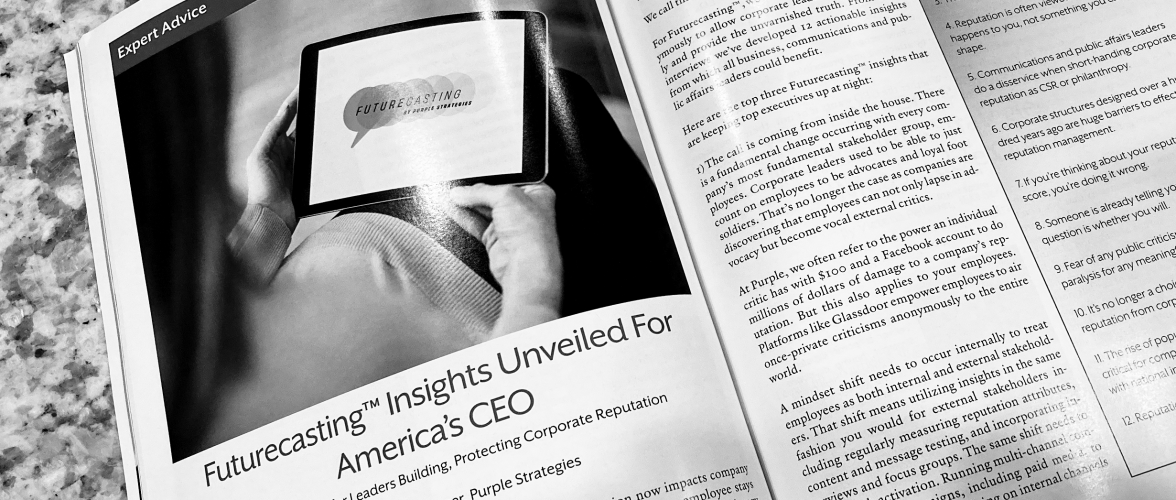 Futurecasting Insights Unveiled for America's CEO