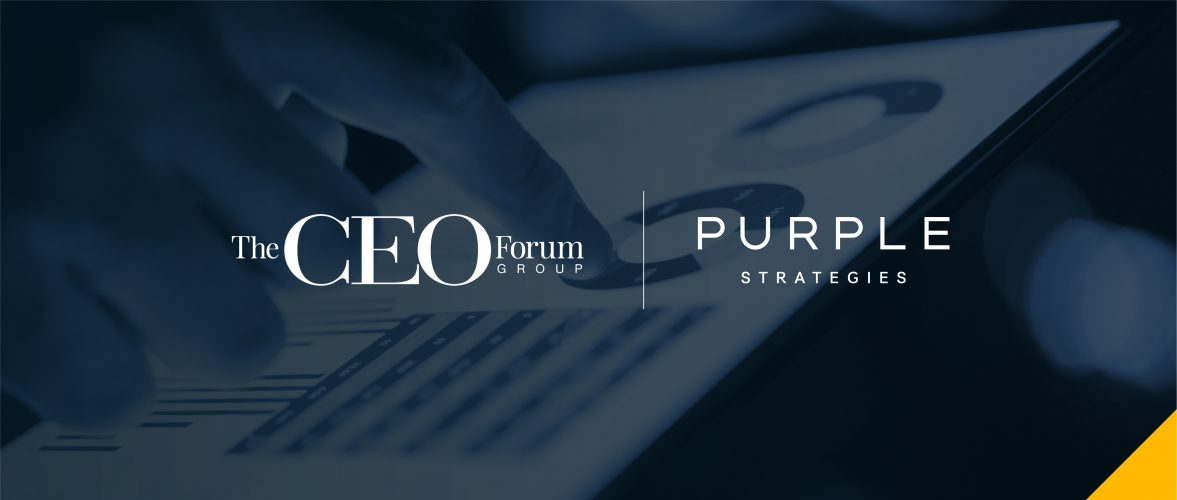 New CEO Research Project Surfaces Data From and For CEOs to Guide Executive Action